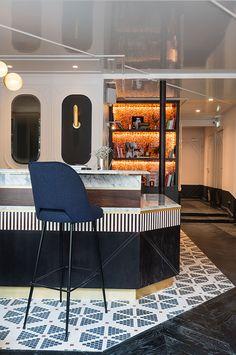 Доротея Мейлихсон (Dorothée Meilichzon) спроектировала интерьеры отеля Panache • И+Д