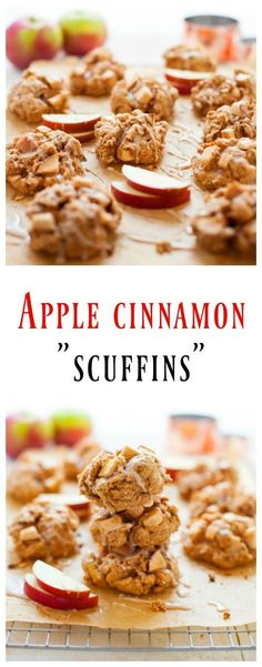 Satisfy your fall craving by whipping up these apple cinnamon scuffins. A hybrid of a muffin and a scone born out of breakfast indecisiveness, these scuffins are packed with fiber, protein, vitamins A, B and C and are a perfect on-the-go breakfast for busy fall mornings.