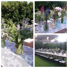 Destination wedding in bohémien style. Magic atmosphere for a table placed in the smell of the orange trees. Gorgeous!! Wedding creator Rosario Alfino www.fiorellicatania.it