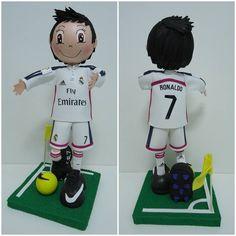 Fofucha Cristiano Ronaldo - goma eva
