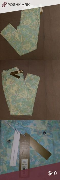 BRAND NEW JEANS!! Multicolored Pastel Green, Yellow, & Light Blue Jeans LC Lauren Conrad Jeans Skinny