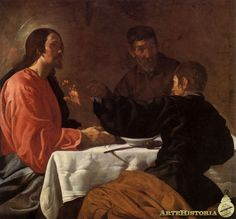 VELAZQUEZ. Cena en Emaús - 1623-29