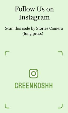 Scan this code by Instagram Stories - Long press the camera screen. Easiest way to follow on Instagram
