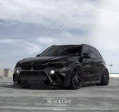 "38.1k Likes, 1,289 Comments - Blacklist Lifestyle | Cars (@black_list) on Instagram: ""Mean BMW X5M! | Design by @bengalaautodesign | #blacklist #bmw #x5m"""