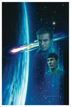 'Star Trek -Strangers From the Sky' cover art- Jerry Vanderstelt Star Trek Captains, Star Trek Tv, Star Wars, Star Trek Original Series, Star Trek Series, Star Trek Beyond, Stargate, Science Fiction, Radios