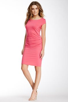 Pretty in Pink Pleated Dress