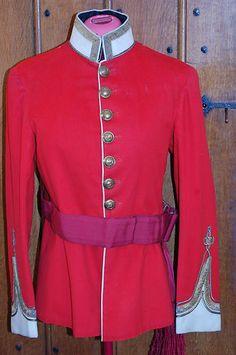 Manchester Regiment Officers Full Dress Tunic
