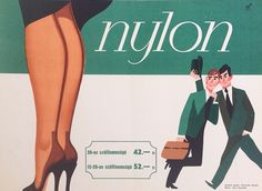 Nylons - x cm) - 220 USD at Budapest Poster Gallery