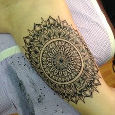 awesome Geometric Tattoo - unique Geometric Tattoo - 200 Mystical Mandala Tattoo Designs And Their Meanings...