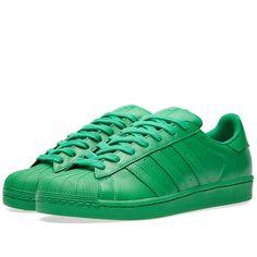 low priced 5955d 90274 Adidas x Pharrell Superstar  Supercolour  Adidas Superstar, Military Green,  Adidas Sneakers,