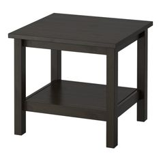 HEMNES Tafeltje IKEA Massief hout heeft een natuurlijke uitstraling.