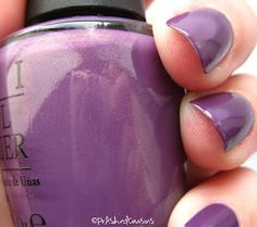 OPI- Dutch Ya Just Love OPI? from the Holland Collection