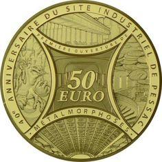 50 Euro Gold Säerin 2013 - Metall-Metamorphose/Pessac PP