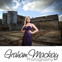 Allana at a photo shoot with Graham Mackay Photography. #weddingphotographyglasgow #weddingphotographerglasgow