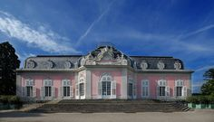 DE-Düsseldorf-Schloss Benrath-Südansicht