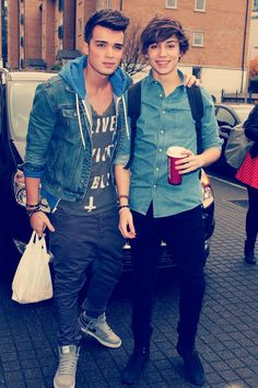 George Shelley and Josh Cuthbert