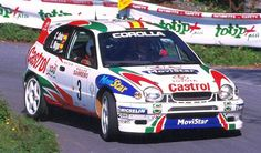 San Remo 1999 - Sainz Carlos - Moya Luis icon Toyota Corolla WRC