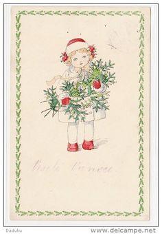 Vintage Christmas - Artist:  Mela Koehler.