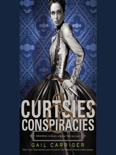 Cover image for Curtsies & Conspiracies.