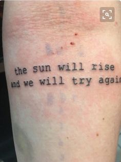 Hello guys how are you Today I got some tattoo inspiration with … # … - diy tattoo images - body art Model Tattoos, Mini Tattoos, Cute Tattoos, Body Art Tattoos, New Tattoos, Small Tattoos, Tatoos, Phrase Tattoos, Lyric Tattoos
