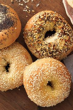Water Bagels Recipe