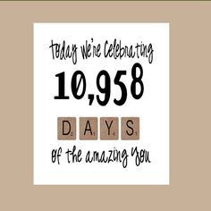 Amazing Birthday Card  Milestone Birthday  door DaizyBlueDesigns, $4.00