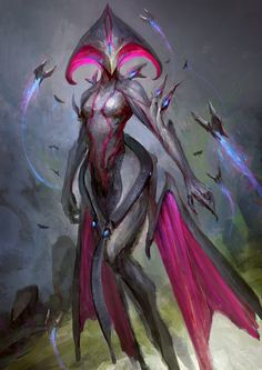 Warframe - Queen of the space fairies by theDURRRRIAN on DeviantArt