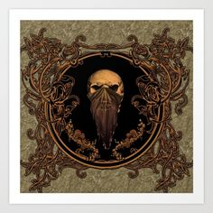 Amazing skull on a frame m by Nicky2342  https://society6.com/product/amazing-skull-on-a-frame-m_print?curator=andreajeanco