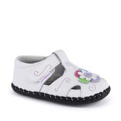 Incaltaminte bebelusi Tori White Multi - pediped Childrens Shoes, Spring Summer, Girls, Little Girls, Daughters, Maids