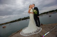 The view from The Green Bank Hotel Wedding Photography
