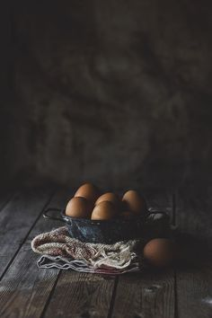 Moody food photography