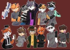 Gravity Falls Anime, Pig Character, Anthro Furry, Artist Art, My Roblox, Occult, Cool Art, Fan Art, Drawings