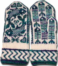 Mittens, Norwegian design