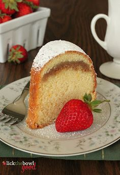 Buttermilk Cinnamon pound cake... sounds good w/ a cup of tea or coffee!
