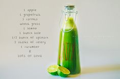 Green juice for a busy day #juicing #greenjuice #juicerecipe...crazy sexy wellness!