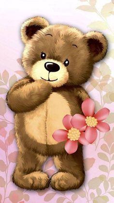Teddy Bear Drawing, Teddy Bear Cartoon, Teddy Bear Toys, Cute Teddy Bears, Teddy Bear Images, Teddy Bear Pictures, Easter Wallpaper, Bear Wallpaper, Tatty Teddy