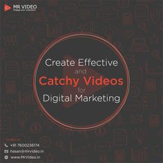 Create effective and catchy videos for digital marketing. - Contact us for your marketing videos at hasan - Whiteboard Video, Just Saying Hi, Marketing Videos, Video Team, Script Writing, Deep Thinking, Fade Out, Start Up Business, Business Management