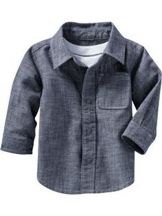 chambray on babies is just cute.