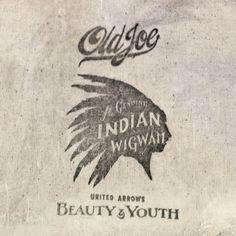 """OLD JOE for B Original bag. """"INDIAN WIGWAM"""""""