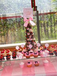 Claudia's Baby Shower  Baby Shower/Sip & See - Inspired by Juicy Couture