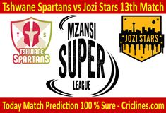 Today Match Prediction-Tshwane Spartans vs Jozi Match-MSL Will Win Live Cricket, Cricket Match, Who Will Win, Stars, Free, Sterne, Star