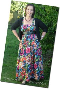 Incredibly easy, no-pattern dress sewing tutorial
