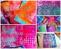 I'll be teaching a Gelli Arts Class at Art is You, Stamford Ct 2013!  Come join the fun!