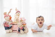 Fotografia infantil, mini ensaio de Páscoa, ensaio clean, mini ensaio, Páscoa. Thais Thomazzoni