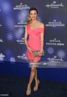 Brooke D'orsay, Press Tour, Hallmark Channel, Celebs, Celebrities, Red Carpet, Strapless Dress, Actresses, Sexy