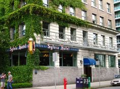 The Sylvia is our favorite hotel in Vancouver. The location is perfect - right across the street from English Bay and surrounded by lots of restaurants.