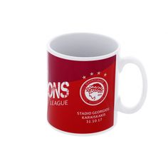17-18 UCL Olympiacos vs Barcelona Mug