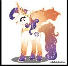 Queen Galaxia, mother of Celestia and Luna
