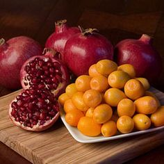 Mandarin & Pomagran