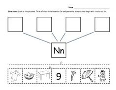 the letter n pinterest worksheets phonics and kindergarten. Black Bedroom Furniture Sets. Home Design Ideas
